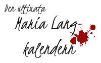 Den ultimata Maria Lang-kalendern