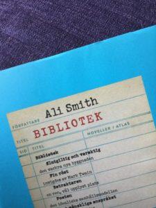 Bibliotek av Ali Smith