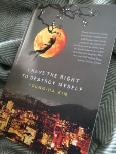 I have the right to destroy myself av Young-Ha Kim