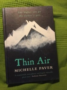 Thin air av Michelle Paver