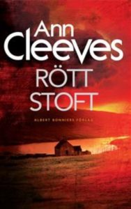 Rött stoft av Ann Cleeves