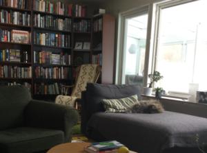 31 bra saker: bokhyllor och bokplatser